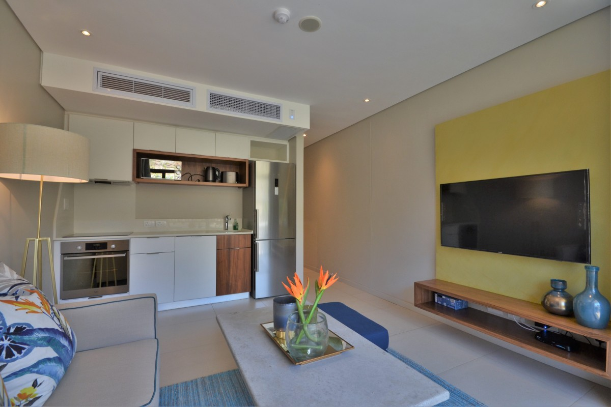 Fully-fitted kitchen at 417 Zimbali Suites