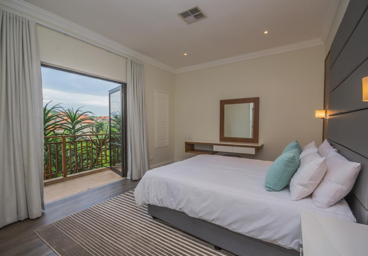 8 tinderwood Bedroom 4 opens onto a balcony