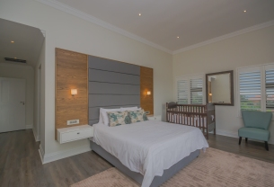 8 tinderwood master bedroom with baby cot
